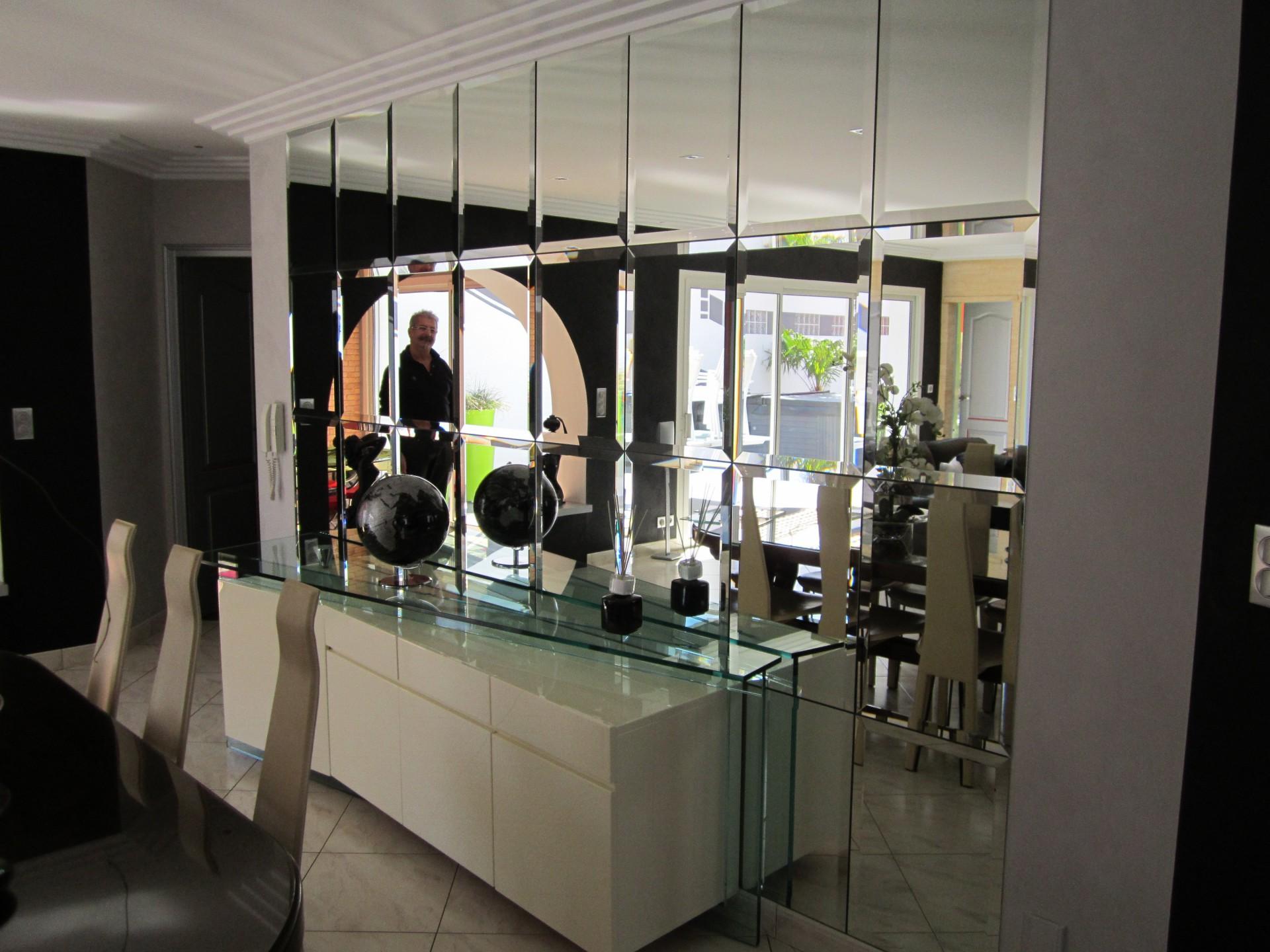 Miroir sur mesure - Miroiterie à La-Roche-Sur-Yon - Miroitier 85
